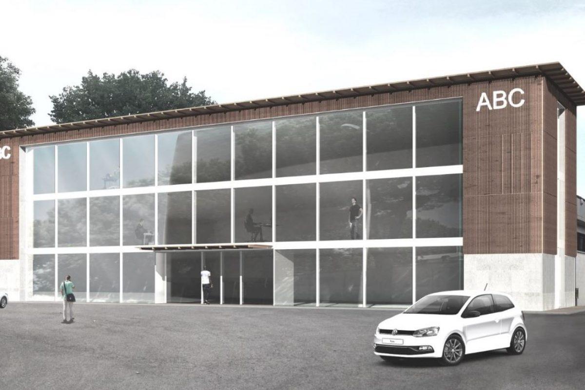 Ampliamento di edificio industriale